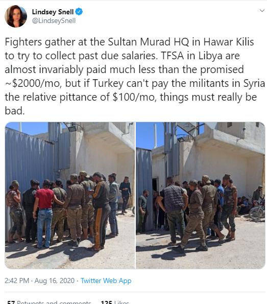 تجمع المرزقة في مقر السلطان مراد