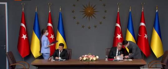 أردوغان وفولوديمير
