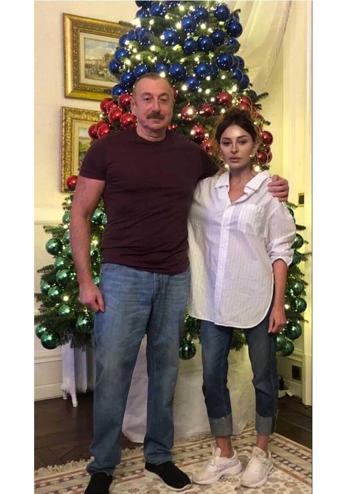 علييف وزوجته