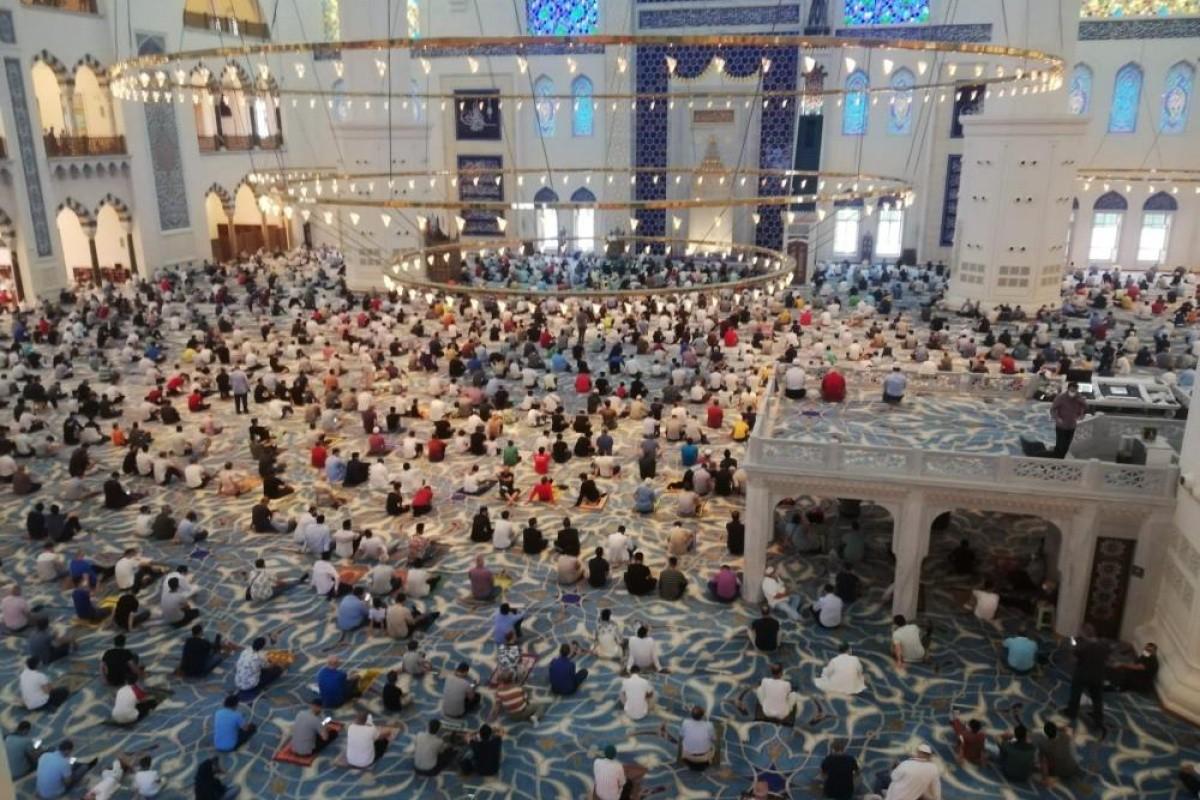 صلاة العيد بتركيا