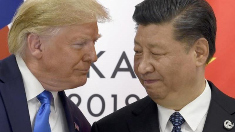 الرئيس الصيني وترامب