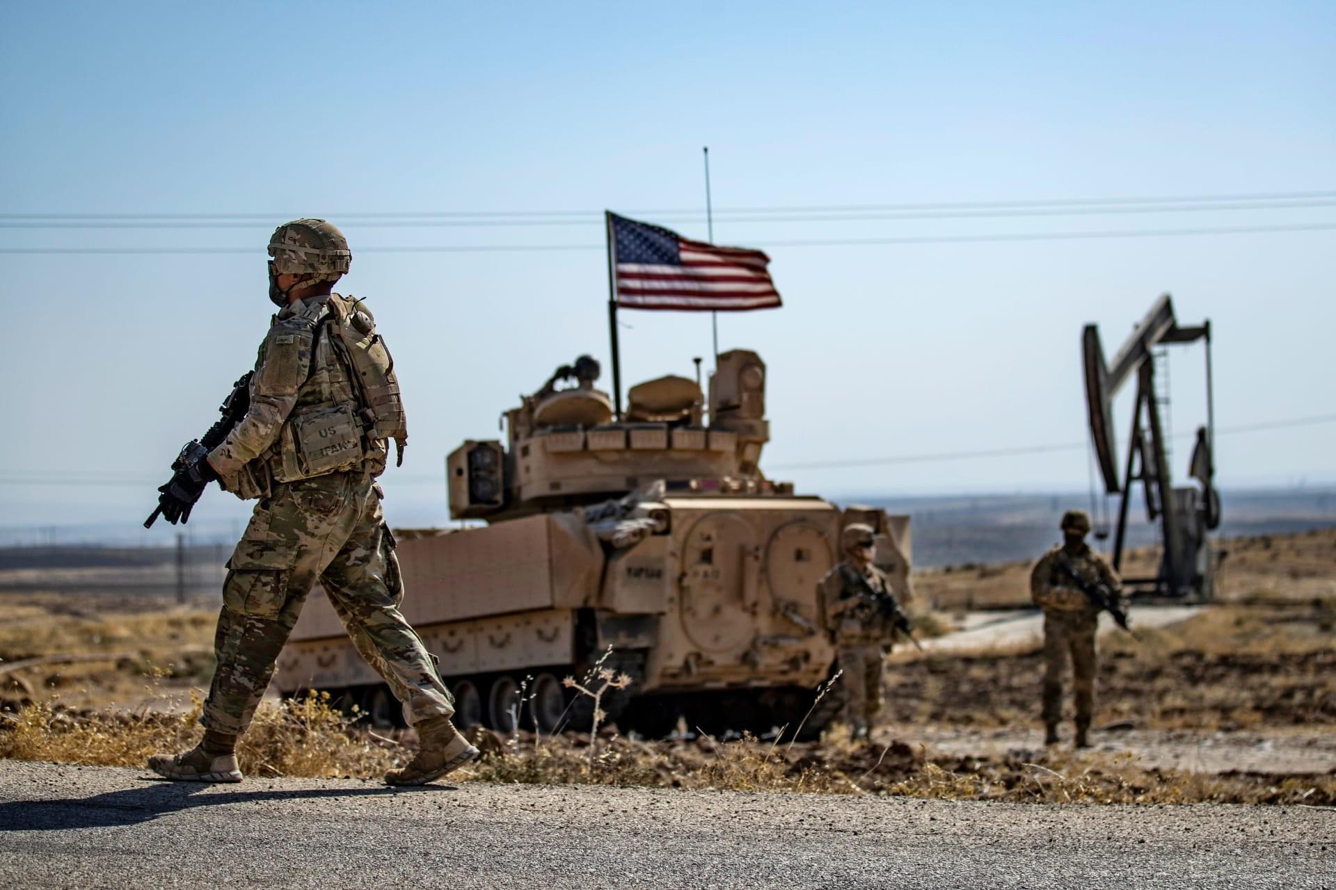 جنود أمريكا في سوريا