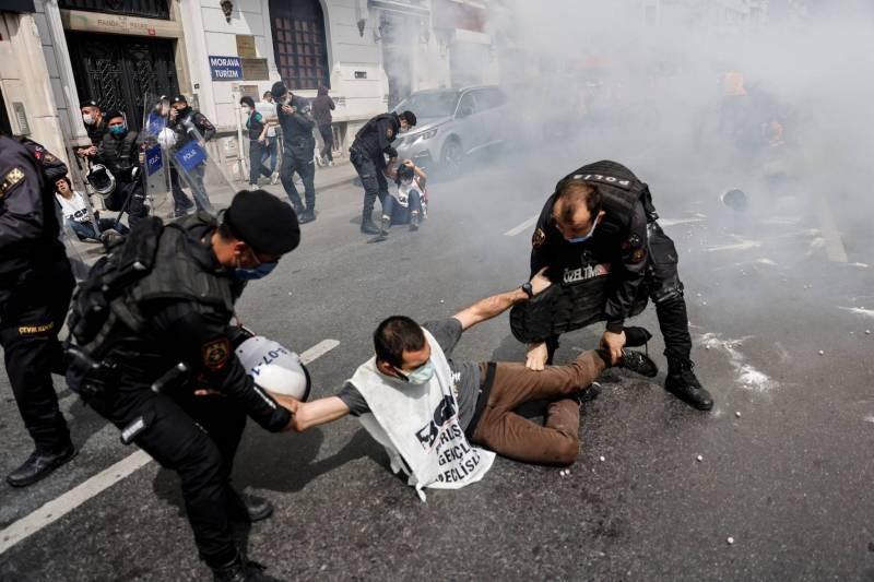 انتهاكات حقوق الإنسان في تركيا