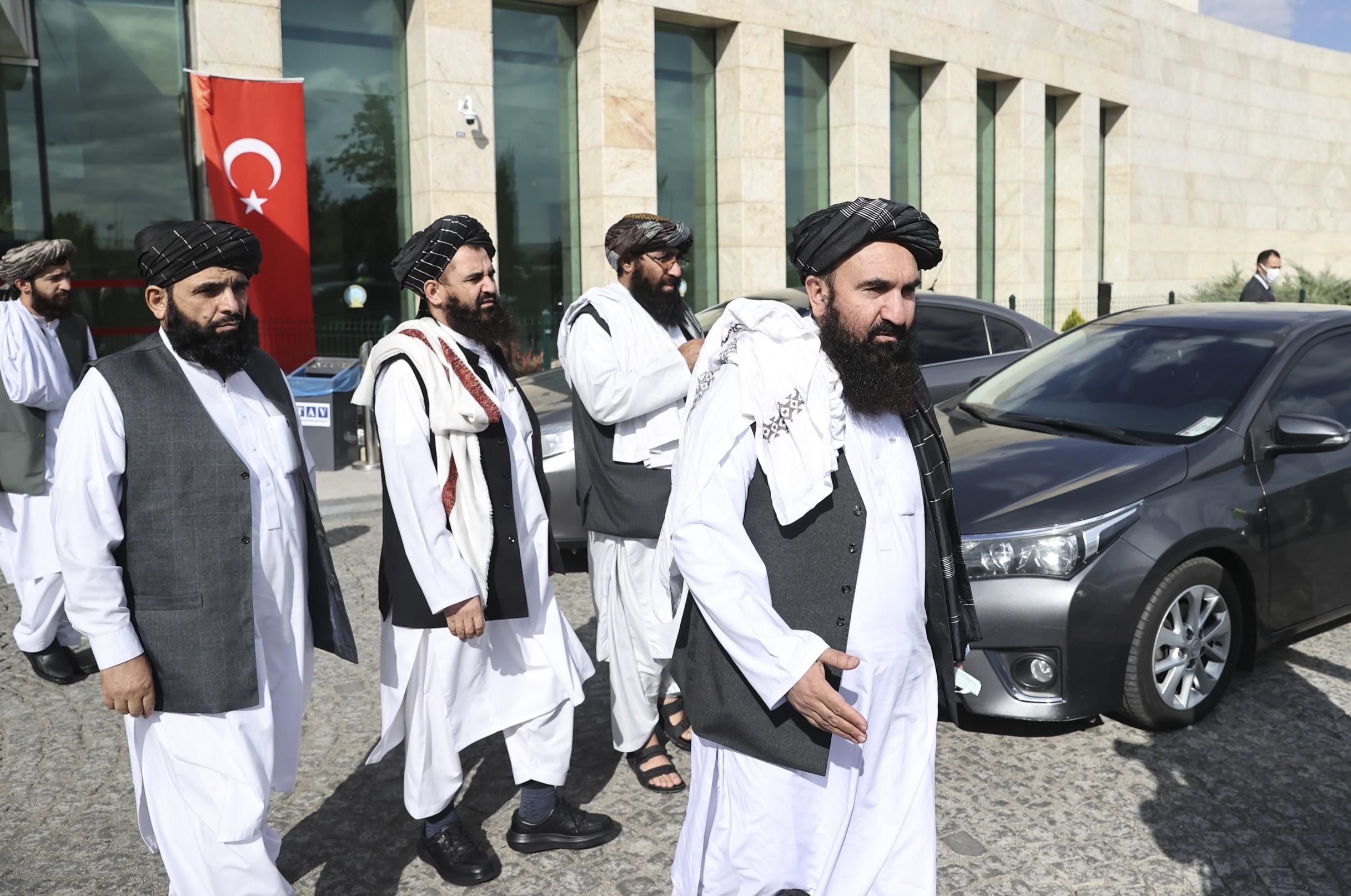 طالبان في أنقرة